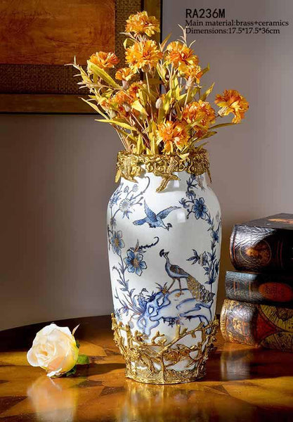 Colorful Porcelain Vase -  westmenlights