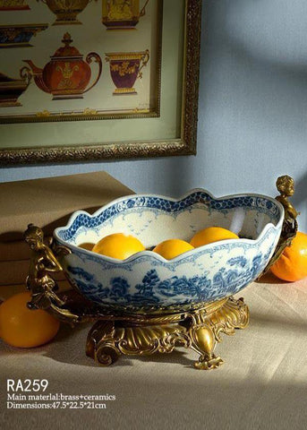 Decorative Fruit Basin -  westmenlights