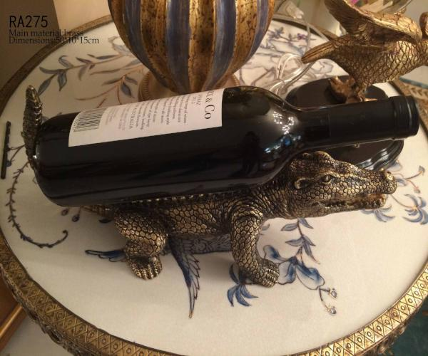 European Alligator Wine Rack
