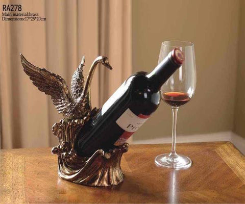 French Swan wine Rack Wine Rack