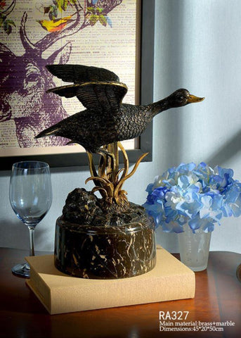 Creative Black Duck Decoration