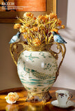 Modern Porcelain Decorative Pot Centerpiece