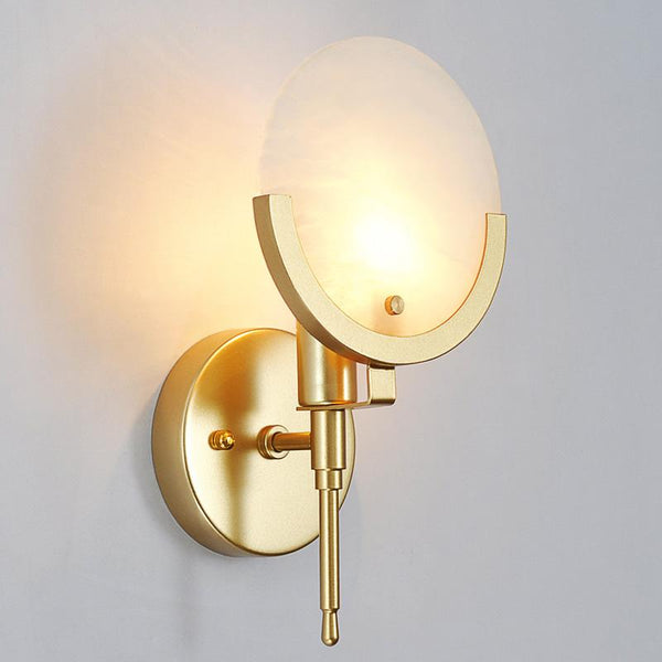 Golden Glass With Marble Shade -  westmenlights