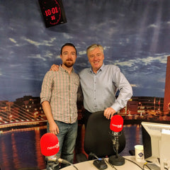 Pupp on Pat Kenny's Newstalk
