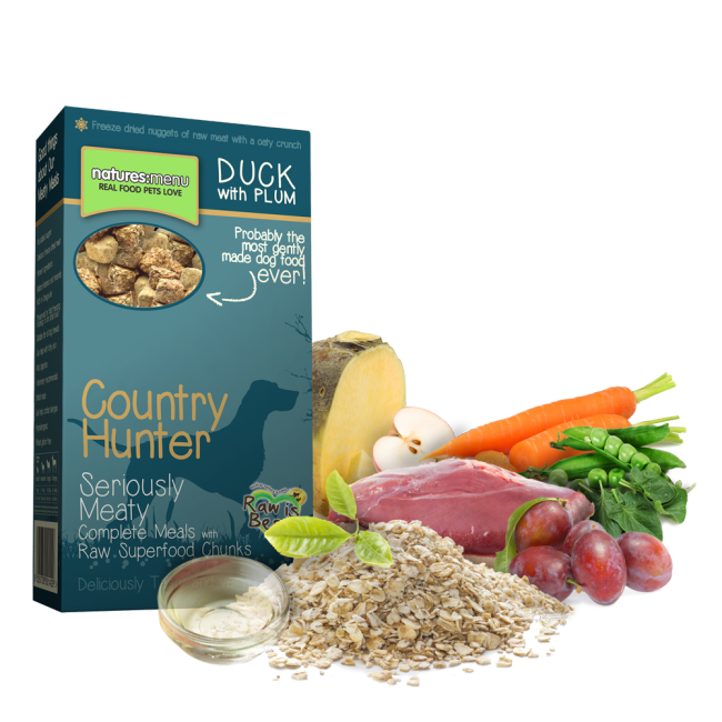 Natures Menu Country Hunter Superfood Crunch Duck & Plum