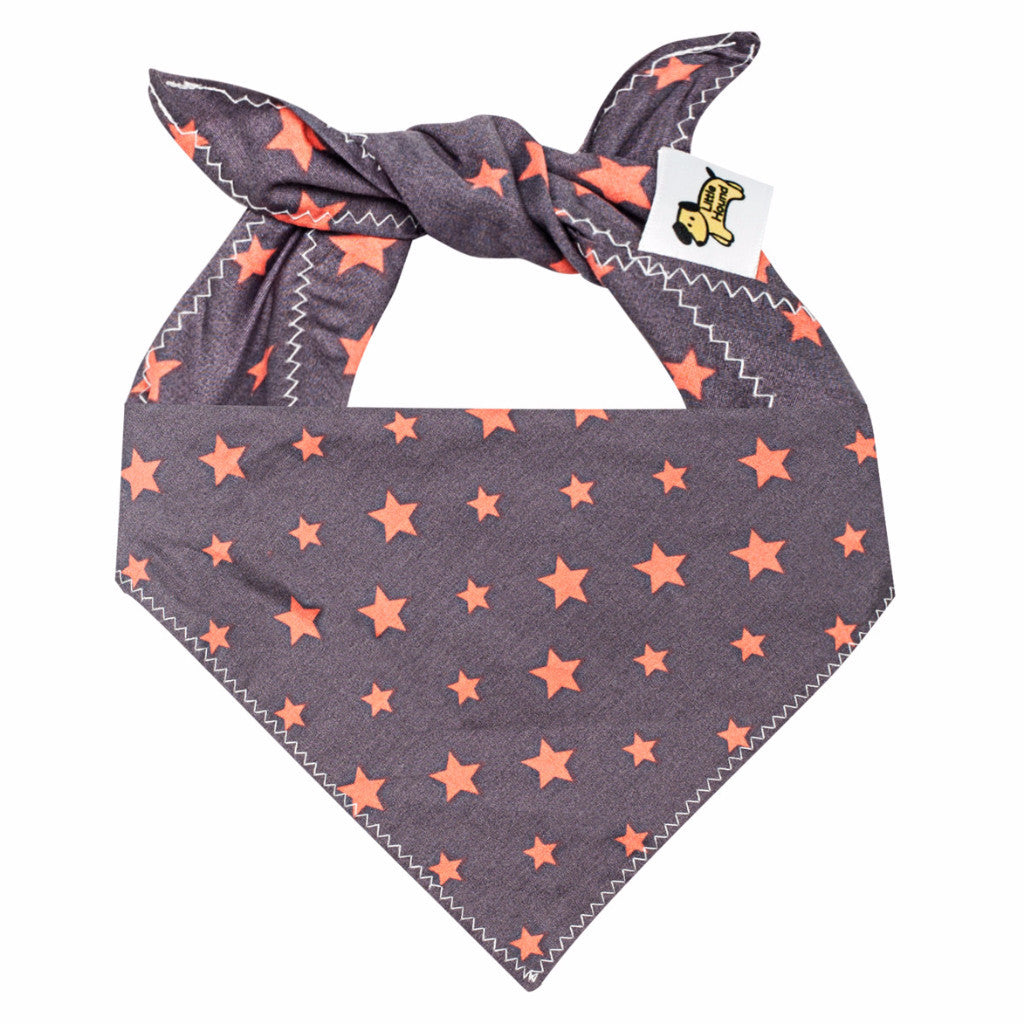 Little Hound Dog Bandana - Stars