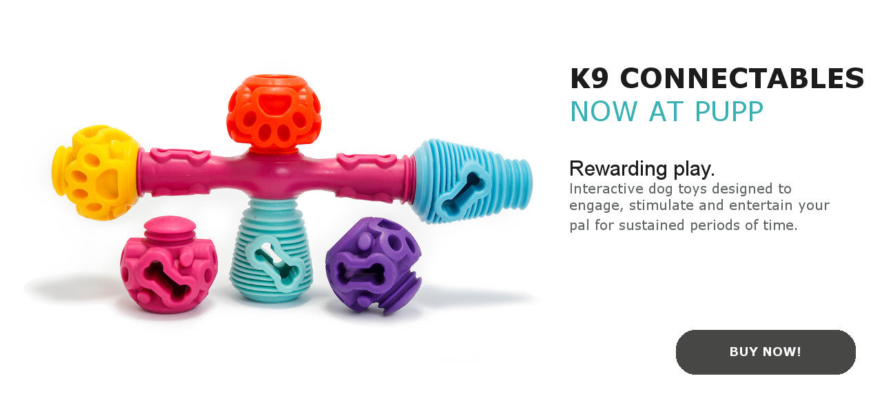 K9 Connectables now on sale at Pupp