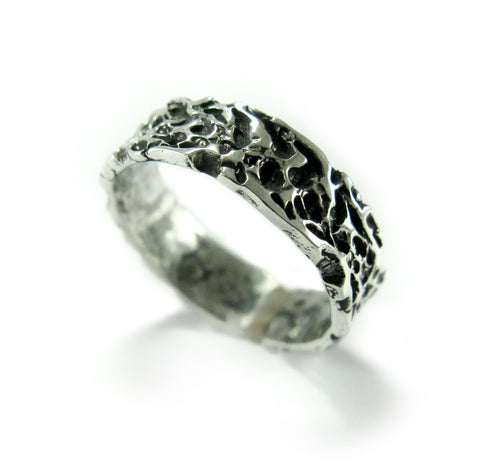 silver ring free size