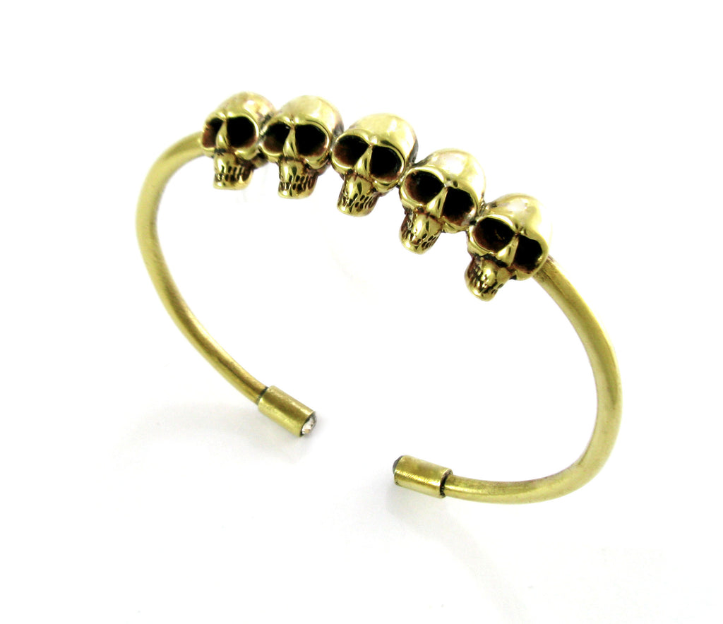 Skull Bangle - Handmade jewelry by e.gig - 1