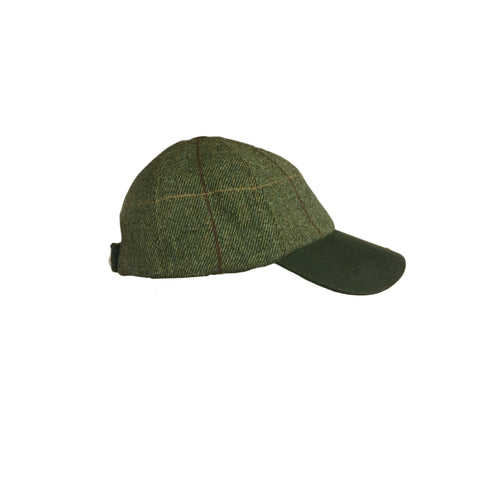 Beaver Countrywear Hats Tweed Baseball Cap [product_tags] - Stuarts Outdoor