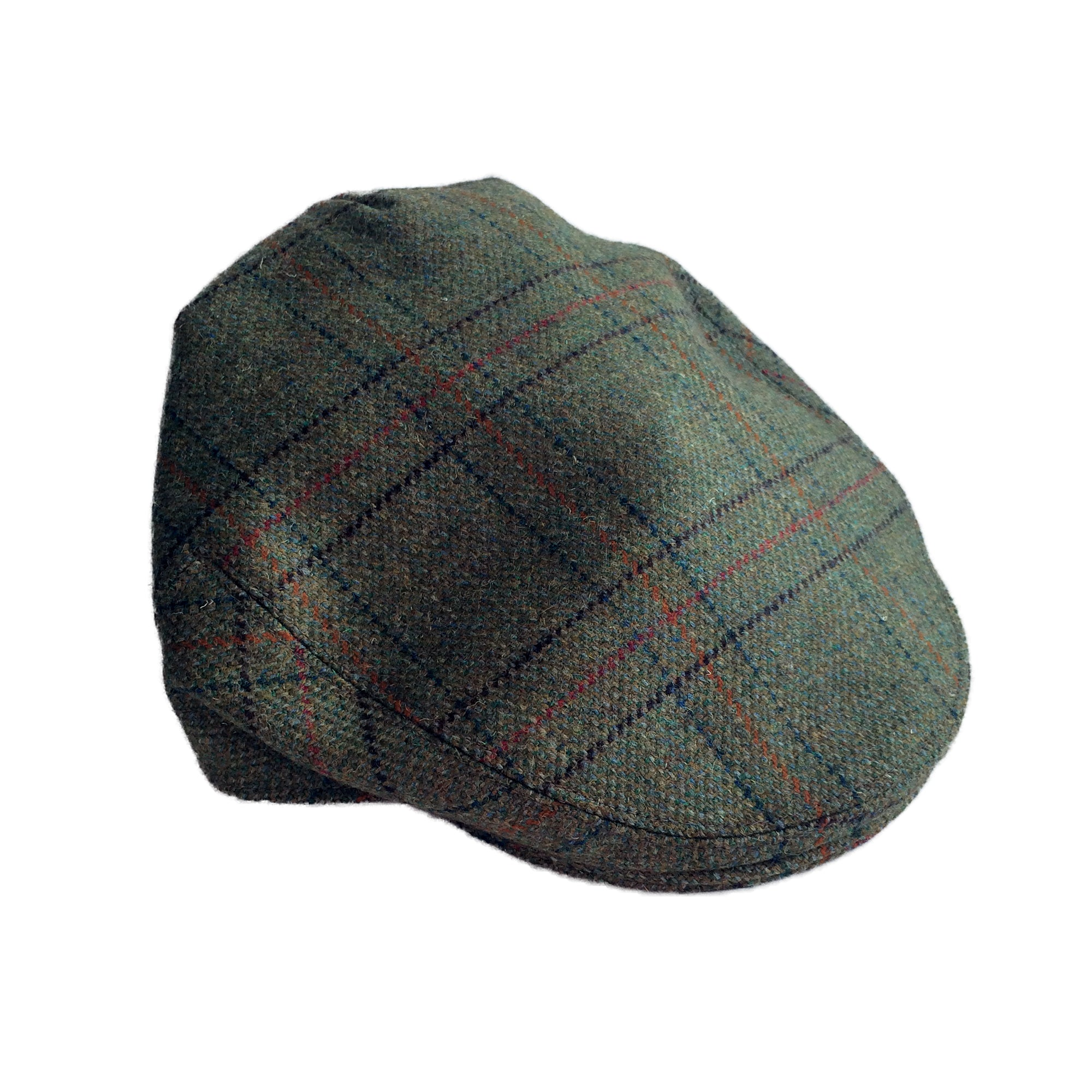 26c81f5a7cf Beaver Countrywear Hats Orange Check Tweed Flat Cap  product tags  -  Stuarts Outdoor