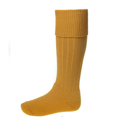 House of Cheviot Men's Socks Scarba Shooting Sock - Mustard [product_tags] - Stuarts Outdoor