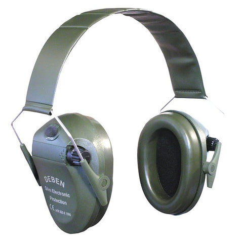 Deben Tracer Ear Defenders Electronic Ear Defenders - Green [product_tags] - Stuarts Outdoor