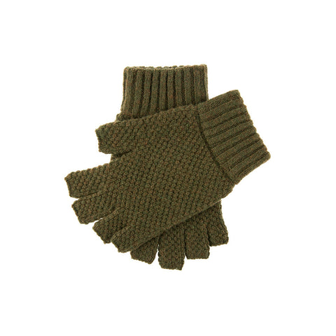 Lanber Tuckstitch Half Finger Shooting Gloves