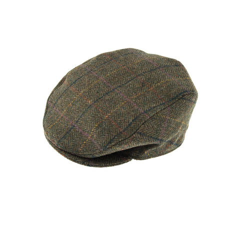 Dents Hats Abraham Moon Yorkshire Tweed Flat Cap [product_tags] - Stuarts Outdoor