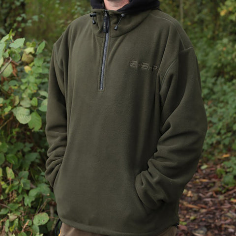 ESP Men's Hoody's Olive Green Fleece Hoody [product_tags] - Stuarts Outdoor