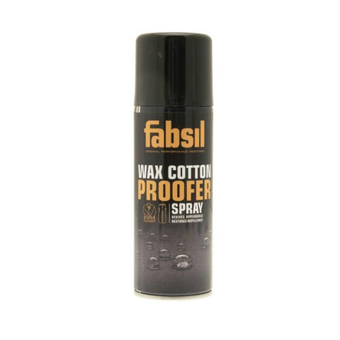 Fabsil Apparel & Footwear Care Wax Cotton Proofer Aerosol 200ml [product_tags] - Stuarts Outdoor