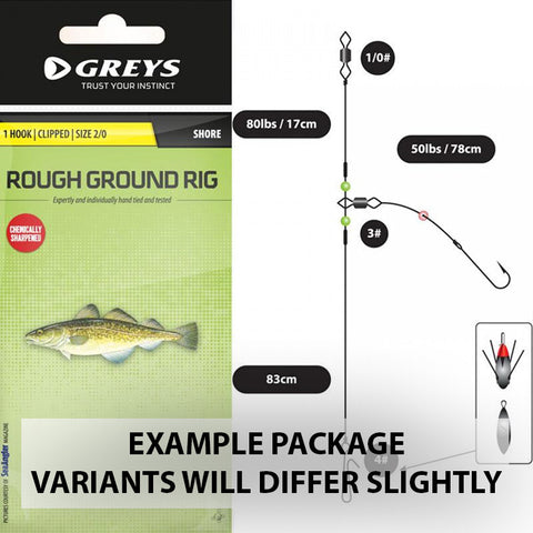 Greys Fishing Tackle One Hook Rough Ground Rig - Shore [product_tags] - Stuarts Outdoor