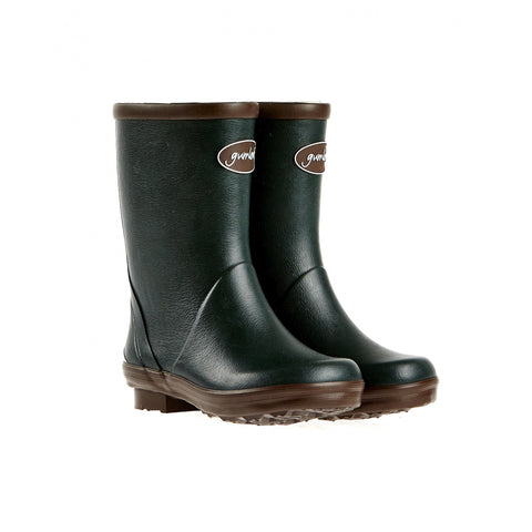 Gumleaf Children's Boots Kiddo Children's Green Wellies [product_tags] - Stuarts Outdoor