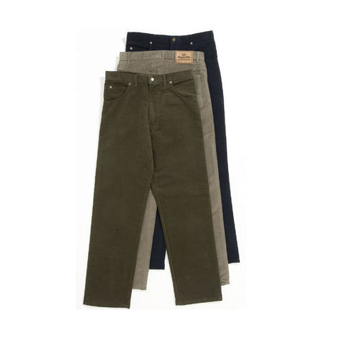 Hoggs of Fife Men's Trousers Men's Classic Cut Moleskin Jeans [product_tags] - Stuarts Outdoor