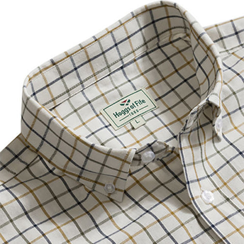 Hoggs of Fife Men's Shirts Classic Country Short Sleeve Shirts - Sizes Medium-2XL [product_tags] - Stuarts Outdoor