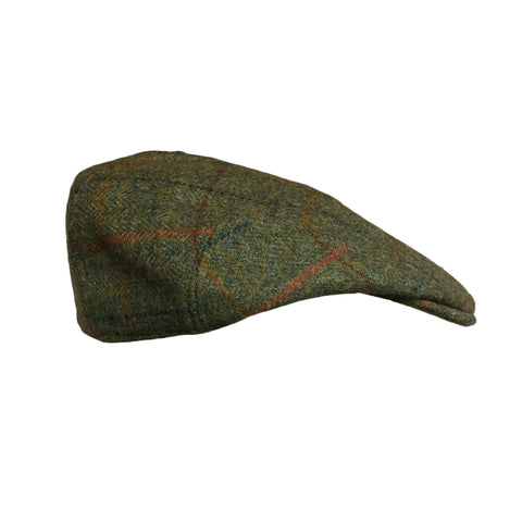 Hucklecote Hats Garforth Tweed Flat Cap [product_tags] - Stuarts Outdoor