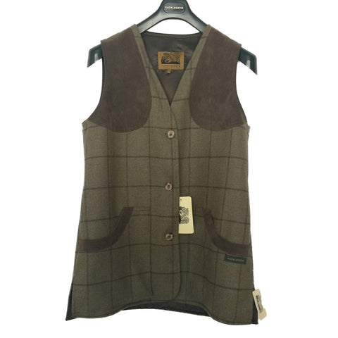 Hucklecote Women's Waistcoat Lewes Ladies Tweed Waistcoat [product_tags] - Stuarts Outdoor