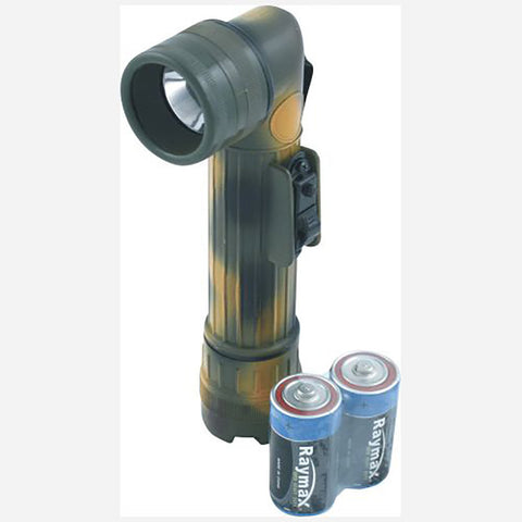 Kombat Light/Torch 3/4 Size Angle Torch - Camouflage [product_tags] - Stuarts Outdoor