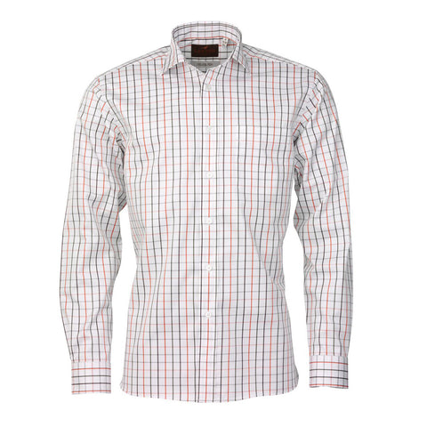Laksen Men's Shirts Daniel Cotton Twill Check Stalking Shirt [product_tags] - Stuarts Outdoor
