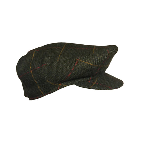 Laksen Hats Tarland Men's Sixpence Tweed Flat Cap [product_tags] - Stuarts Outdoor