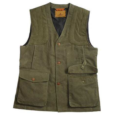 Laksen Men's Waistcoat Men's Moleskin Shooting Vest [product_tags] - Stuarts Outdoor