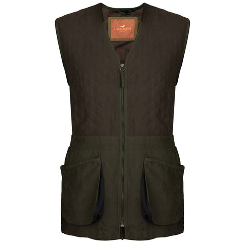 Laksen Men's Waistcoat Wingshooter Shooting Vest [product_tags] - Stuarts Outdoor