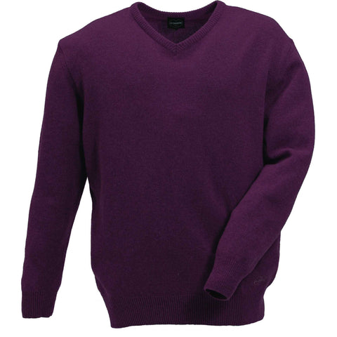 Le Chameau Men's Knitwear Lambswool Men's Knitted Shooting Jumper [product_tags] - Stuarts Outdoor