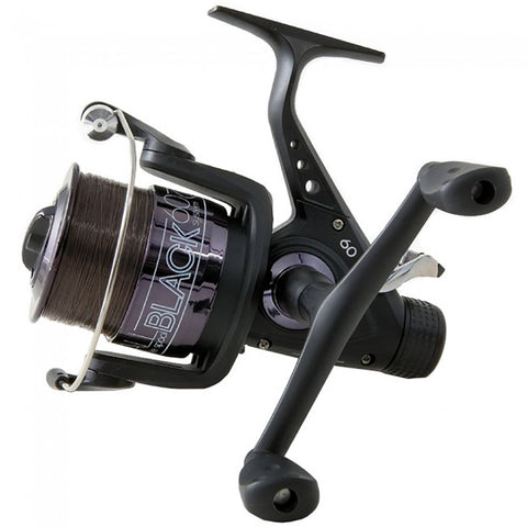 Lineaeffe Fishing Reel All Black 60 Freespool Reel [product_tags] - Stuarts Outdoor