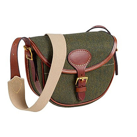 Musto Bag Heath Tweed & Leather Cartridge Bag [product_tags] - Stuarts Outdoor
