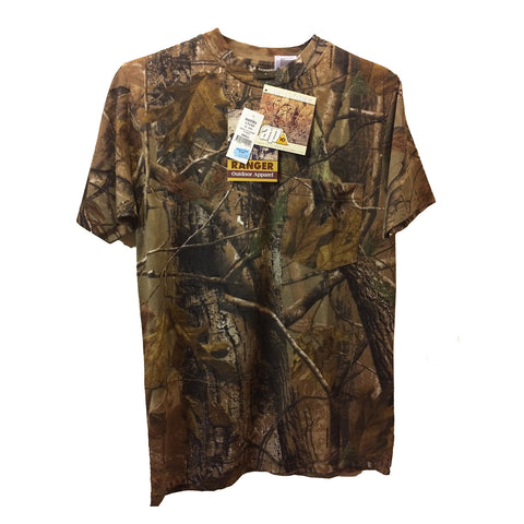 Bell Ranger Men's T-Shirts Camouflage Short Sleeve T-shirt - 131AP [product_tags] - Stuarts Outdoor