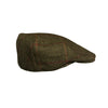 Stanbury Hats Traditional Tweed Flat Cap [product_tags] - Stuarts Outdoor