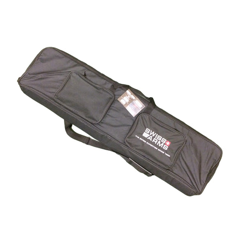 "Swiss Arms Rifle Slip Case Large Black Nylon Rifle Case/Bag 47"" [product_tags] - Stuarts Outdoor"