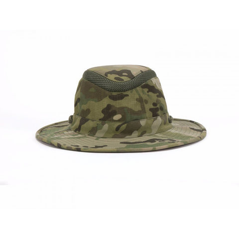 Tilley Hats Multicam Airflow Lightweight Intermediate Brim Hat - LTM6 CAM [product_tags] - Stuarts Outdoor