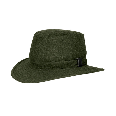 Hats - Tilley - Technical Wool Hat Olive -  - Stuarts Outdoor