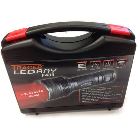 Deben Tracer Light/Torch Ledray F400 White Red Light [product_tags] - Stuarts Outdoor