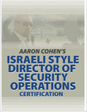 Israeli Director Of Security Operations