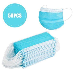 3-Ply Disposable Mask (50-Pack)