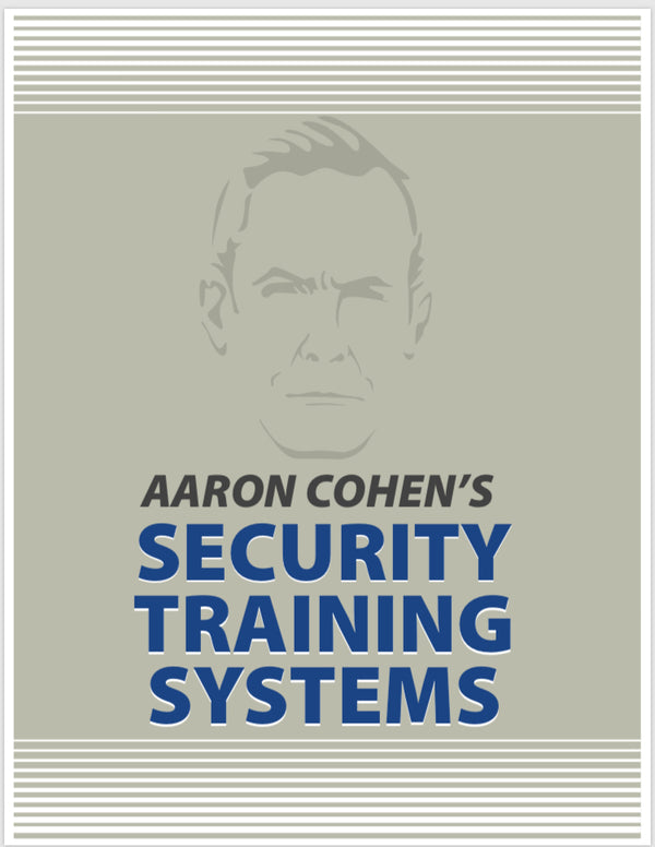 AARON COHEN'S MASTER ISRAELI SECURITY CERTIFICATION PROGRAM