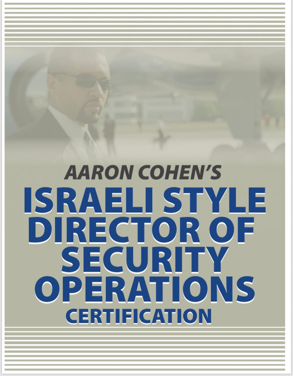 ISRAELI DIRECTOR OF SECURITY CERTIFICATION COURSE