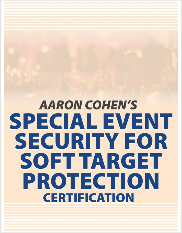 Get Trained In Israeli Security Aaron Cohens Special Event