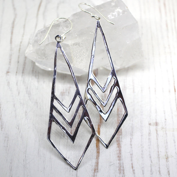 925 Silver 'Pallavini' Earrings