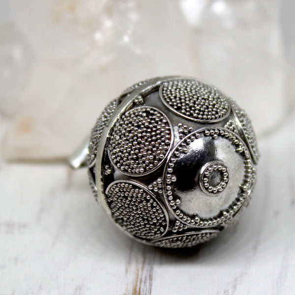 925 Sterling Silver Balinese Harmony Ball