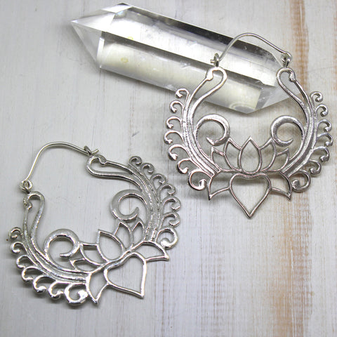 925 Silver 'Jalaj' Earrings