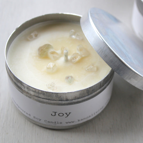 Essential Oil & Soy wax Travel Candle
